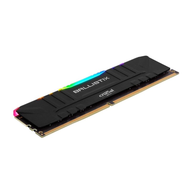 ballistix rgb 32GB 2x16GB DDR4 3200MHz Gaming Memory Kit Black b