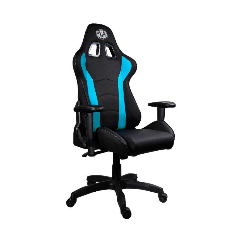 cooler master caliber r1 gaming chair black blue b