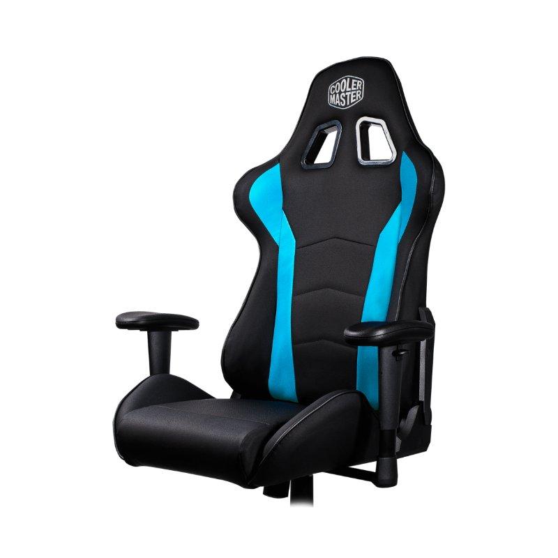 cooler master caliber r1 gaming chair black blue d