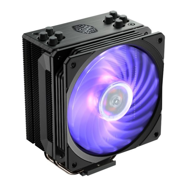 cooler master hyper 212 black rgb cpu cooler a