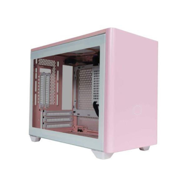cooler master masterbox nr200p mini itx case flamingo pink a