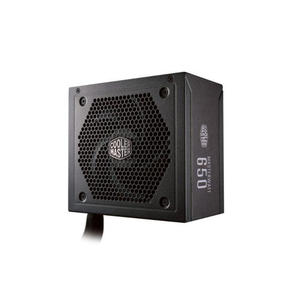 cooler master masterwatt 650w 80 plus bronze semi modular power supply a