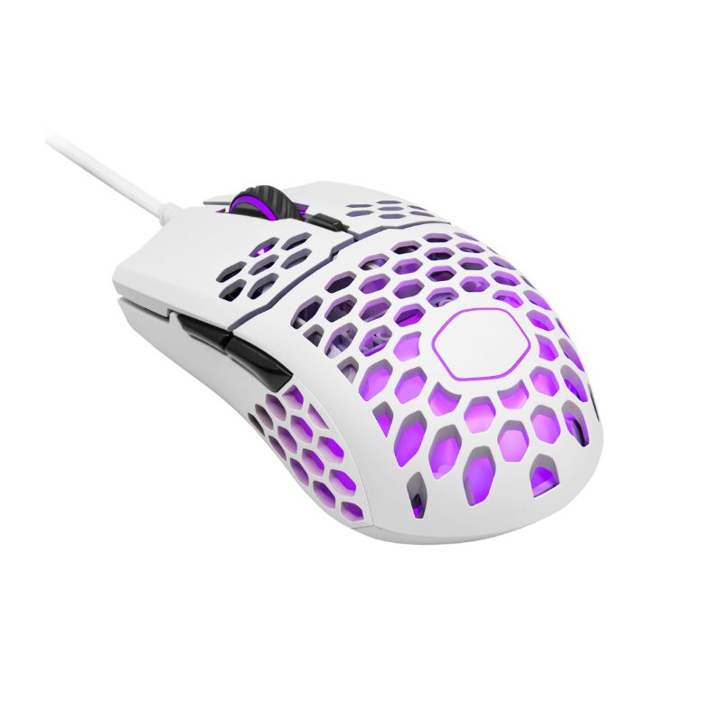 cooler master mm711 gaming mouse white matte a