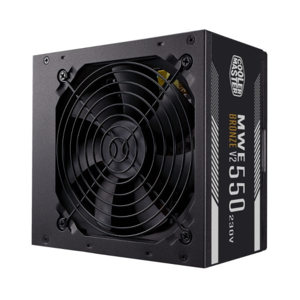 cooler master mwe 550w 80 plus bronze 230v power supply a