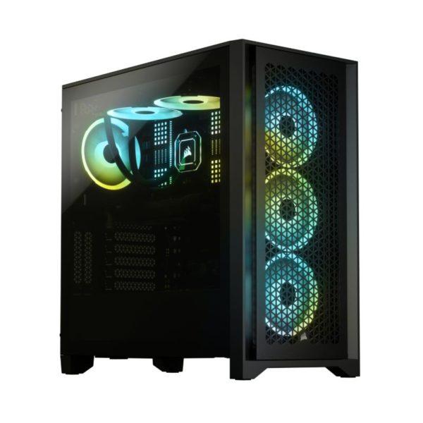 corsair 4000d airflow gaming case black a