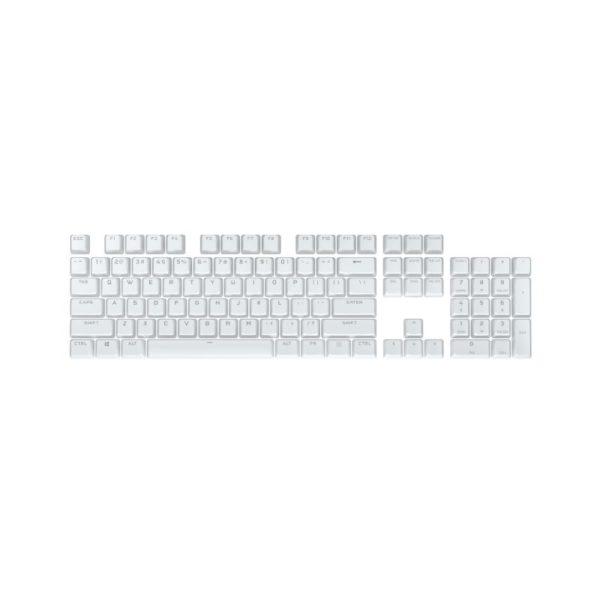 corsair bt double shot pro keycap mod kit arctic white a
