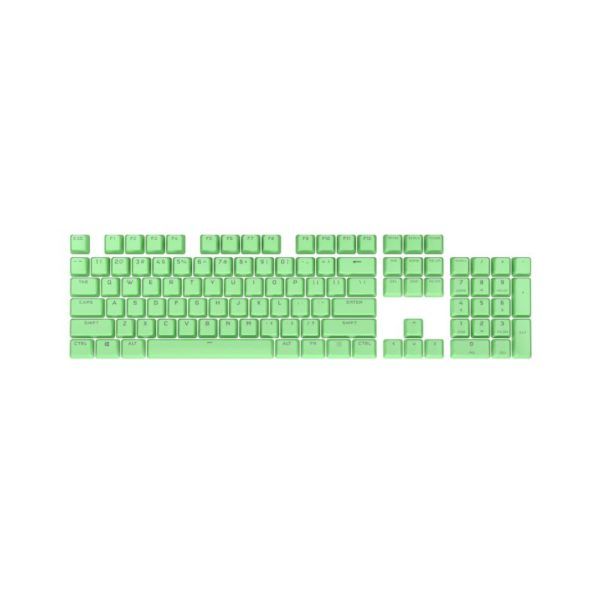 corsair bt double shot pro keycap mod kit mint green a