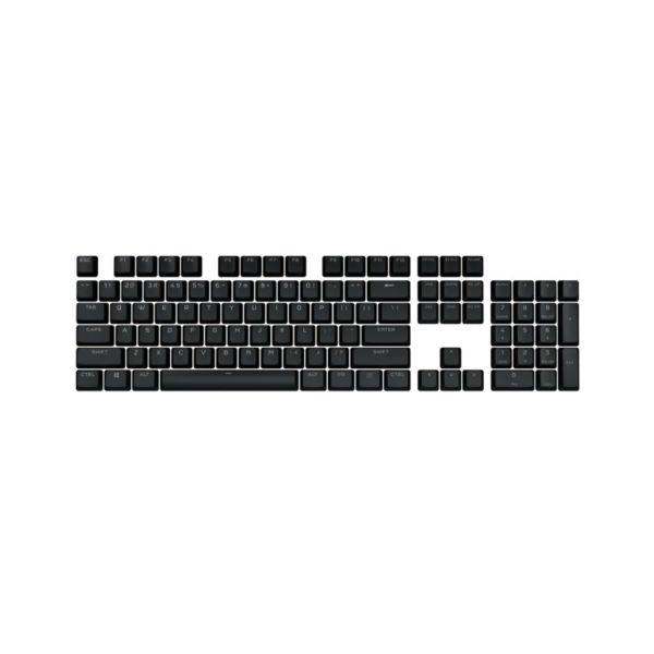 corsair bt double shot pro keycap mod kit onyx black a