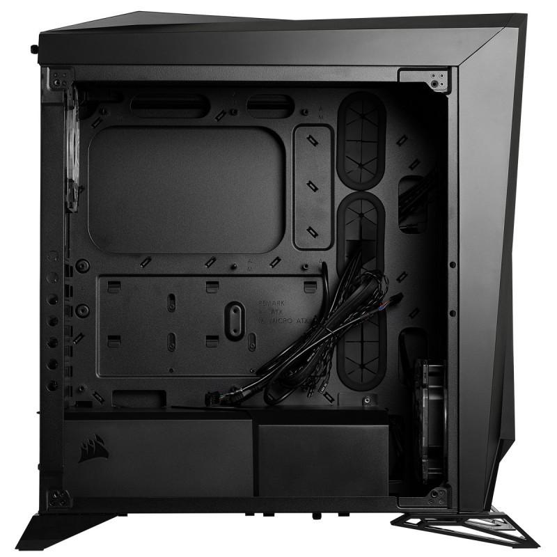 corsair carbide spec omega rgb case black c
