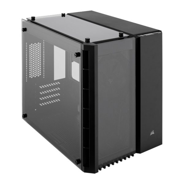 corsair crystal 280x case black a