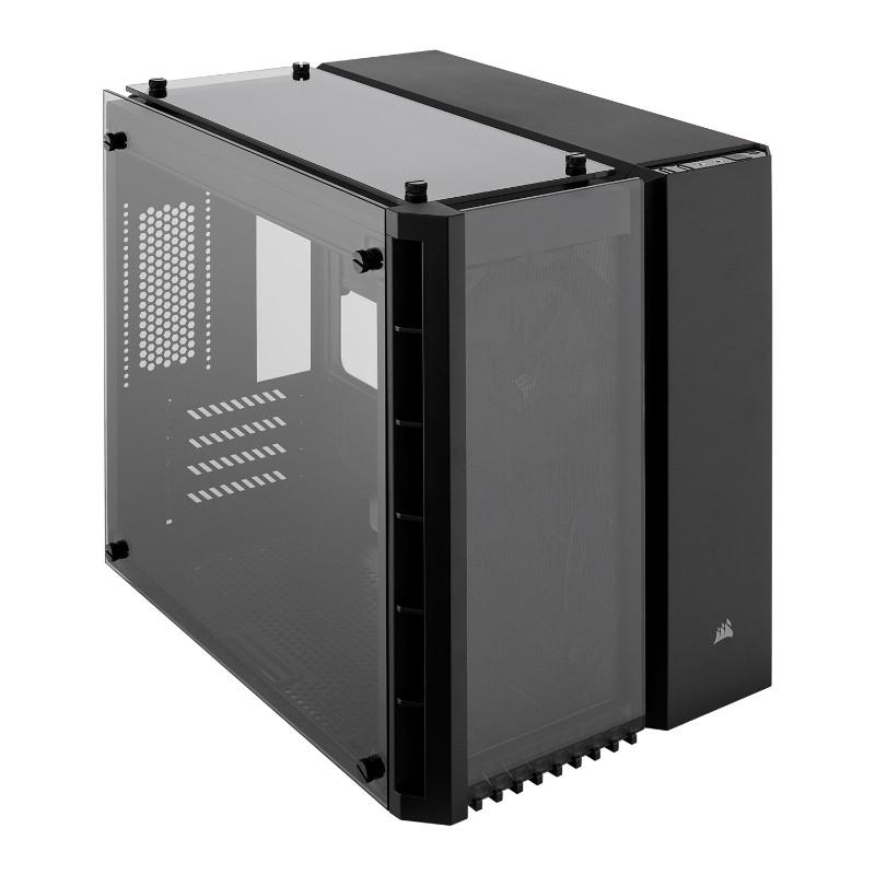 corsair crystal 280x case black a