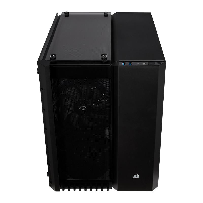 corsair crystal 280x case black c