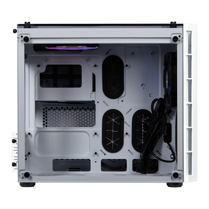 corsair crystal 280x rgb case white b