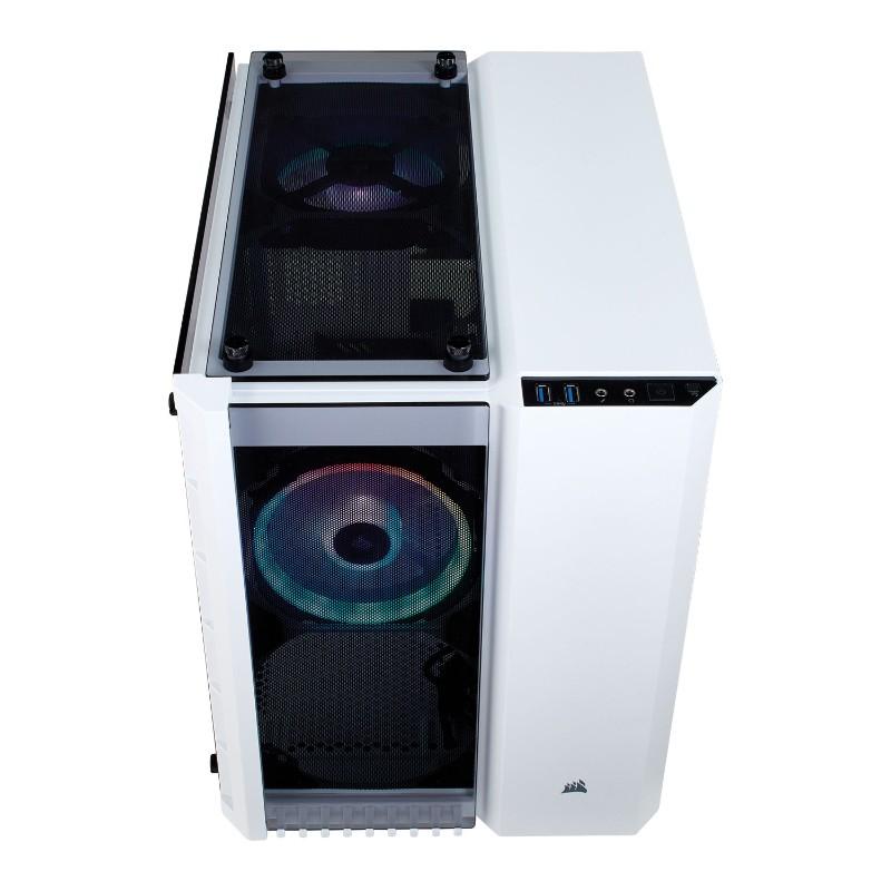 corsair crystal 280x rgb case white c