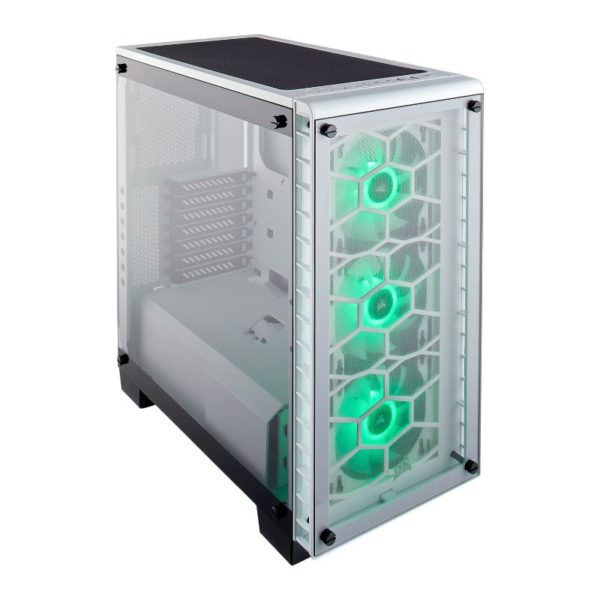 corsair crystal series 460x rgb case white a