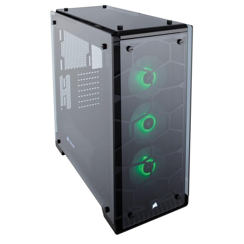 corsair crystal series 570x rgb case black a