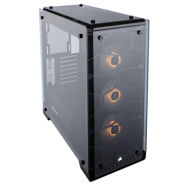 corsair crystal series 570x rgb case black c