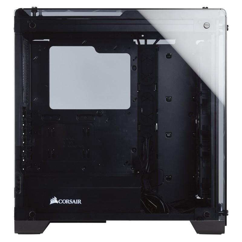 corsair crystal series 570x rgb case black d