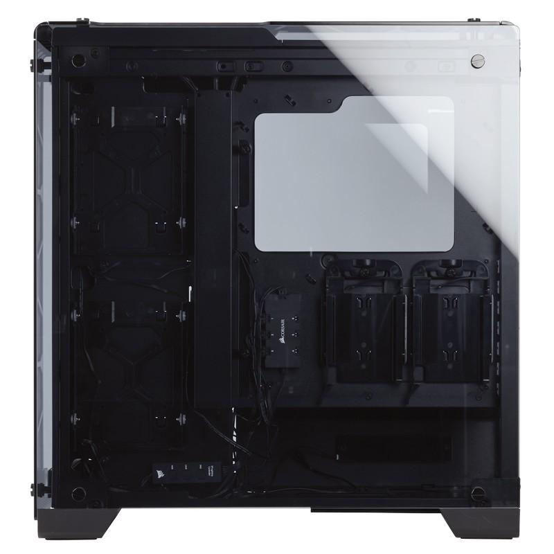 corsair crystal series 570x rgb case black e