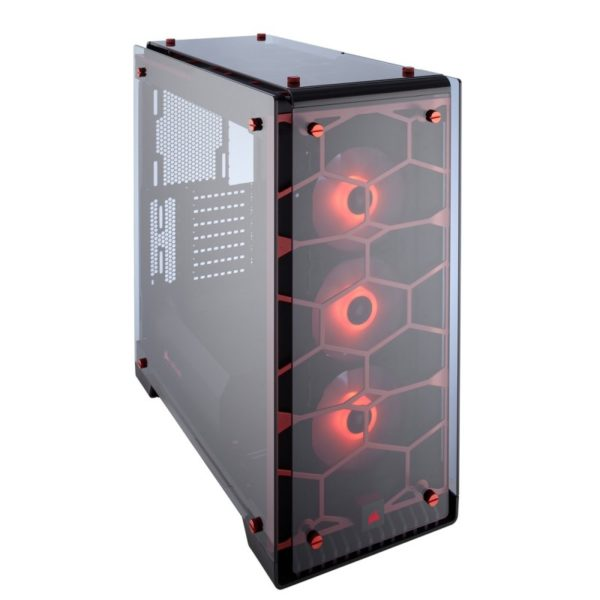 corsair crystal series 570x rgb case red a