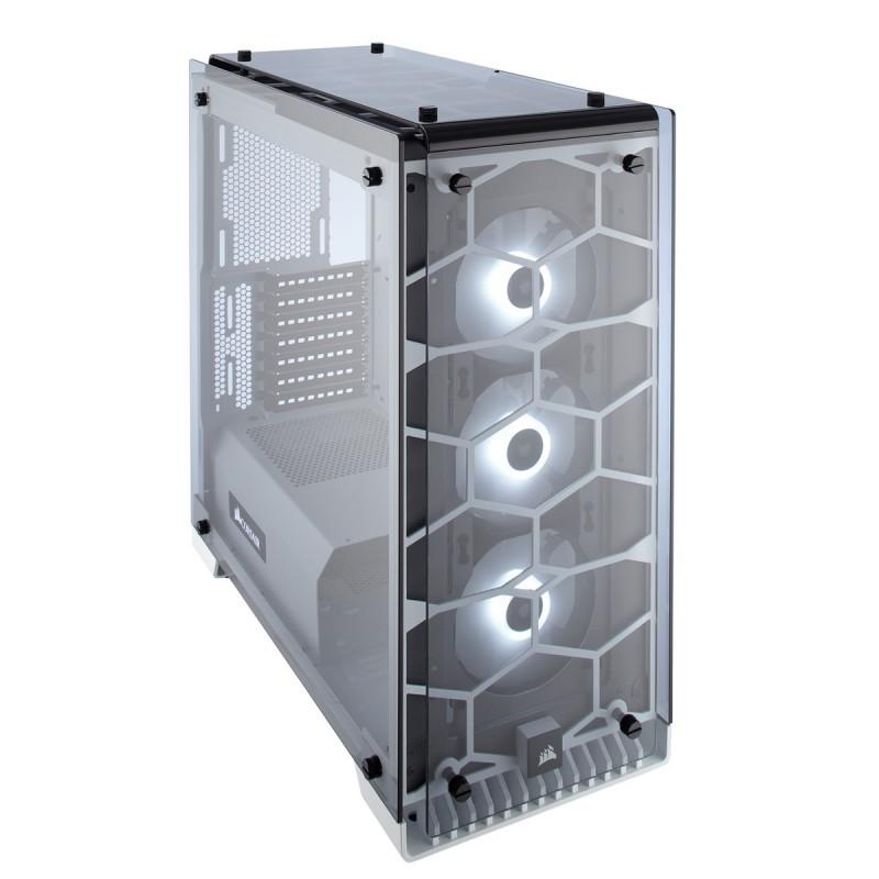 corsair crystal series 570x rgb case white a