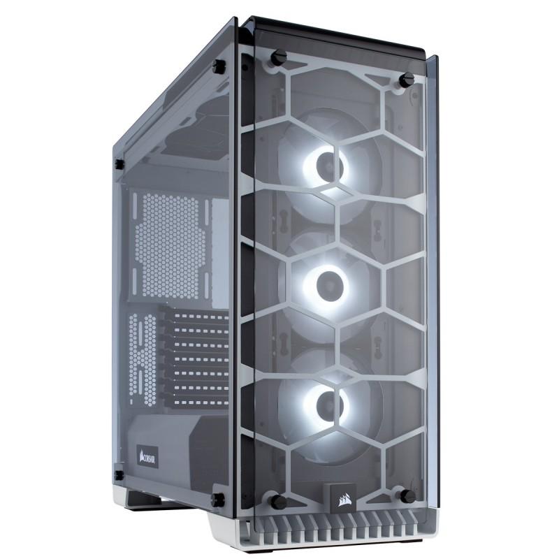 corsair crystal series 570x rgb case white b