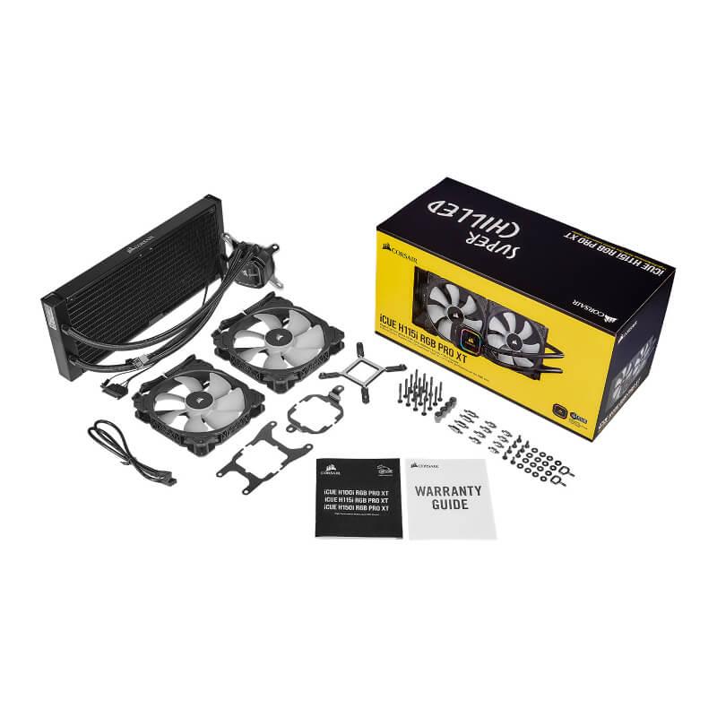 corsair h115i rgb pro xt cpu cooler d