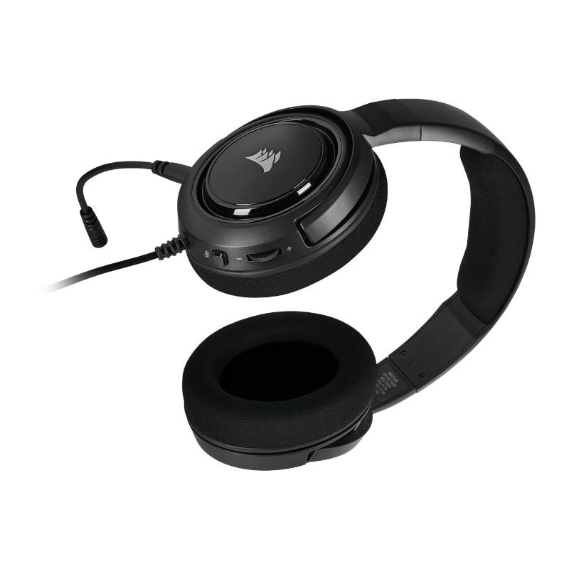 corsair hs35 gaming headset black c