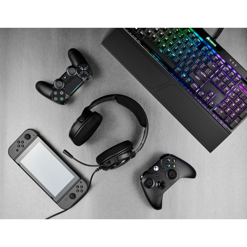 corsair hs35 gaming headset black d