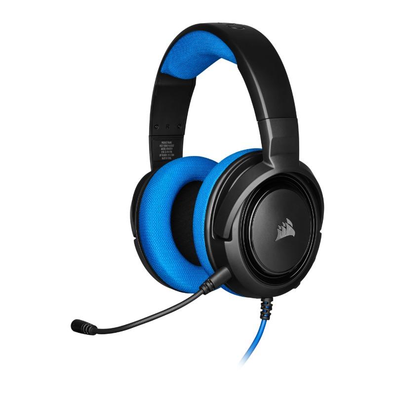 corsair hs35 gaming headset blue a