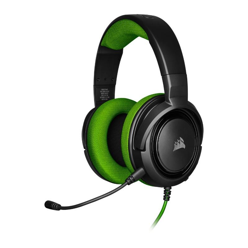 corsair hs35 gaming headset green a