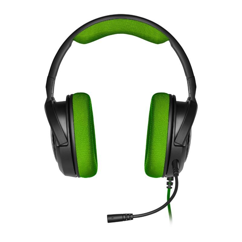 corsair hs35 gaming headset green b