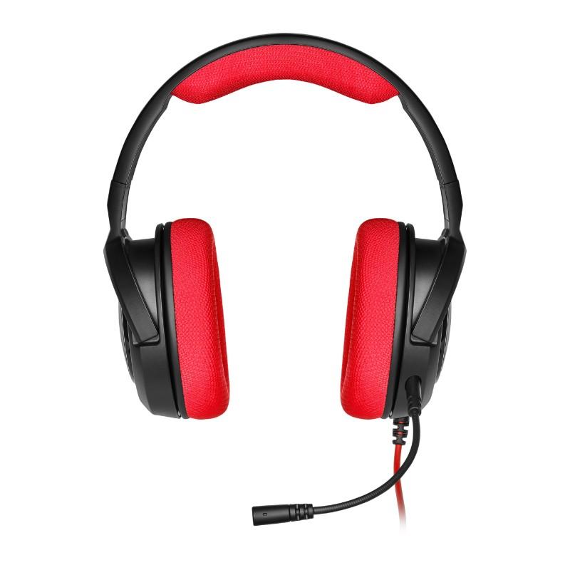 corsair hs35 gaming headset red b