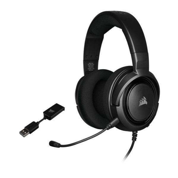 corsair hs45 surround gaming headset carbon a