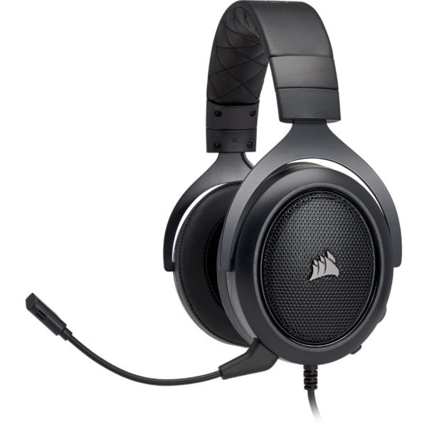 corsair hs50 black headset a