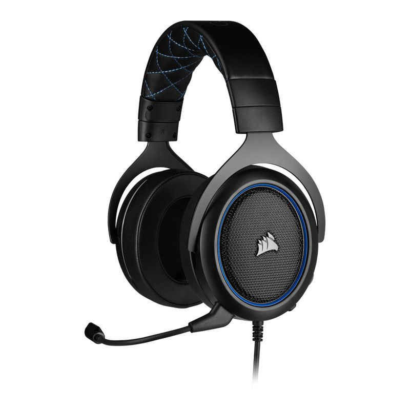 corsair hs50 pro stereo gaming headset blue a