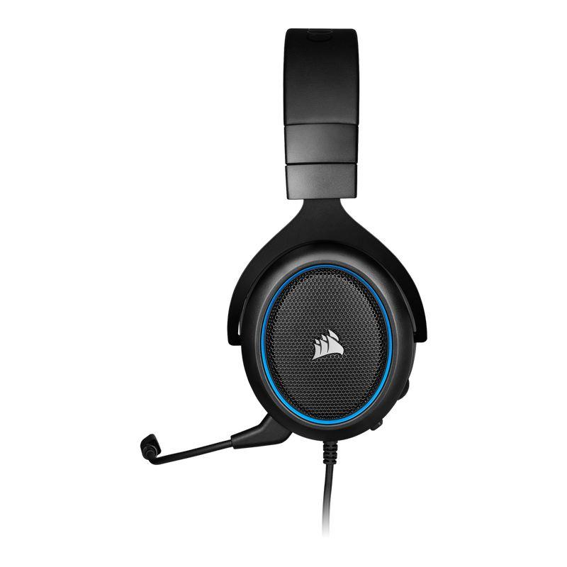 corsair hs50 pro stereo gaming headset blue c