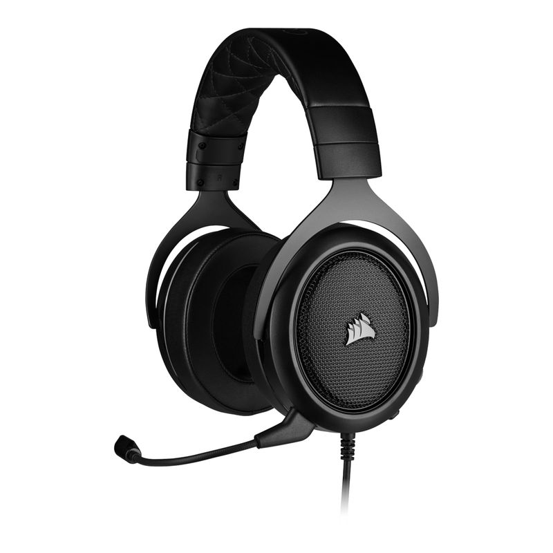 corsair hs50 pro stereo gaming headset carbon a