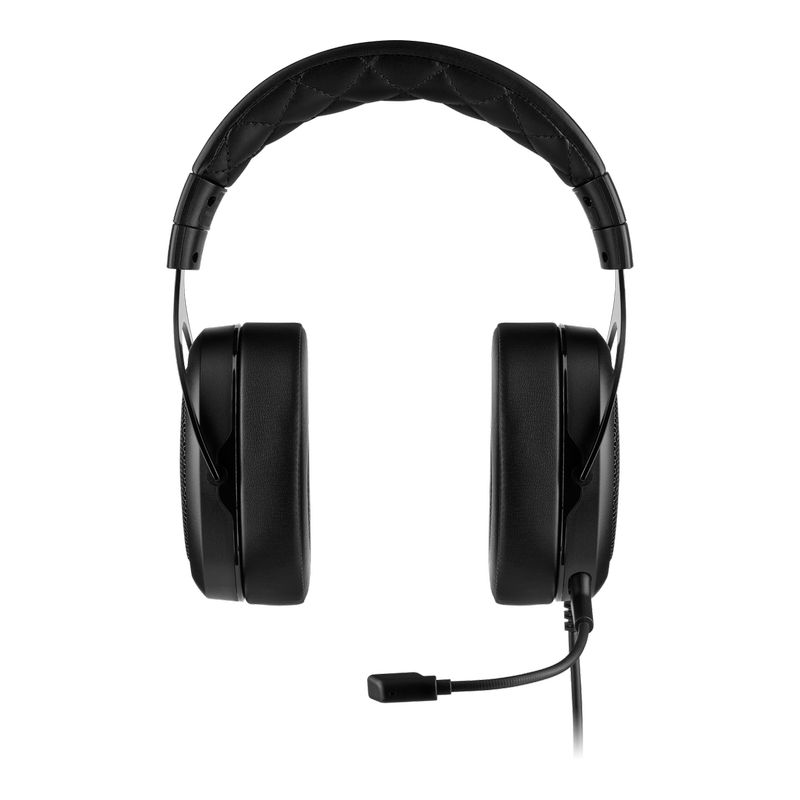 corsair hs50 pro stereo gaming headset carbon b