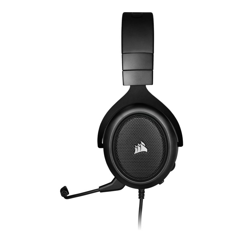 corsair hs50 pro stereo gaming headset carbon c