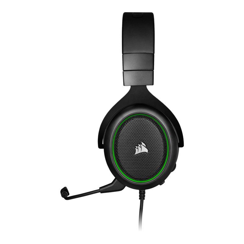 corsair hs50 pro stereo gaming headset green c