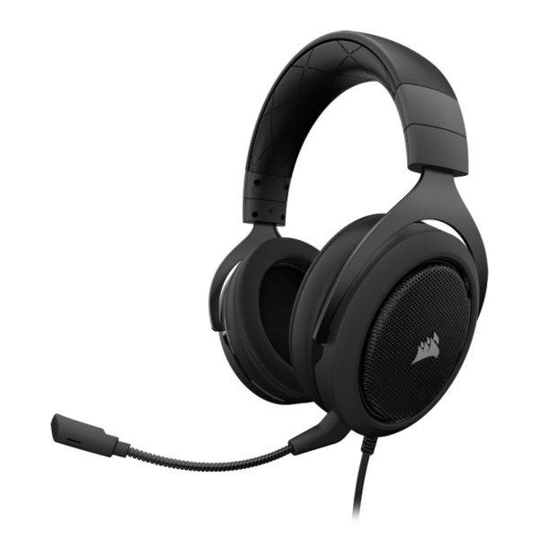 corsair hs60 gaming headset carbon a