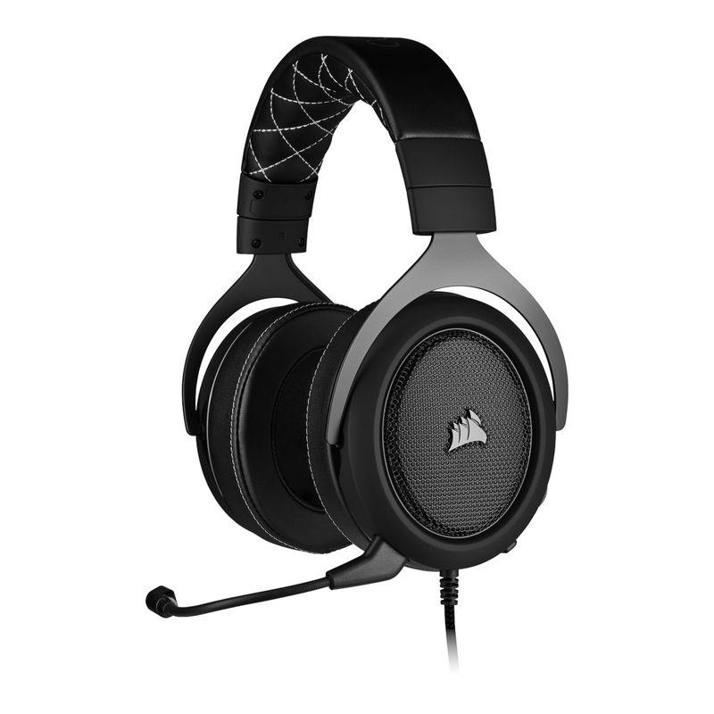 corsair hs60 surround gaming headset carbon a
