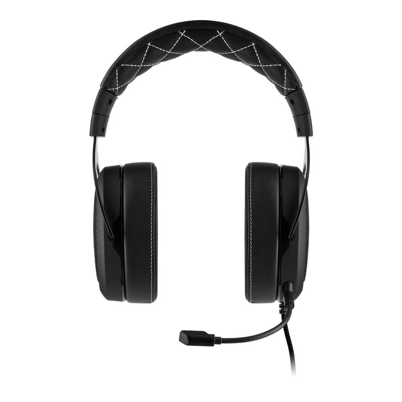 corsair hs60 surround gaming headset carbon b