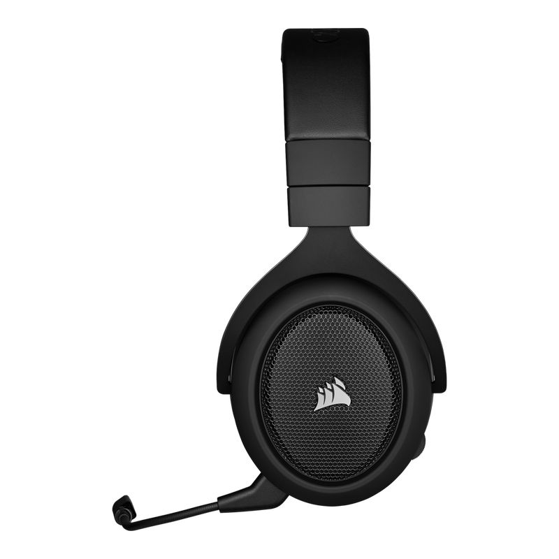 corsair hs70 pro wireless gaming headset carbon c