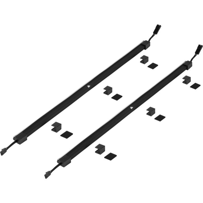 corsair icue ls100 smart lighting strip 450mm expansion kit e