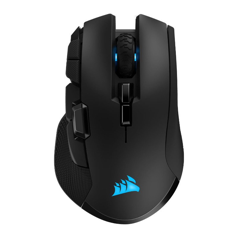 corsair ironclaw rgb wireless gaming mouse b