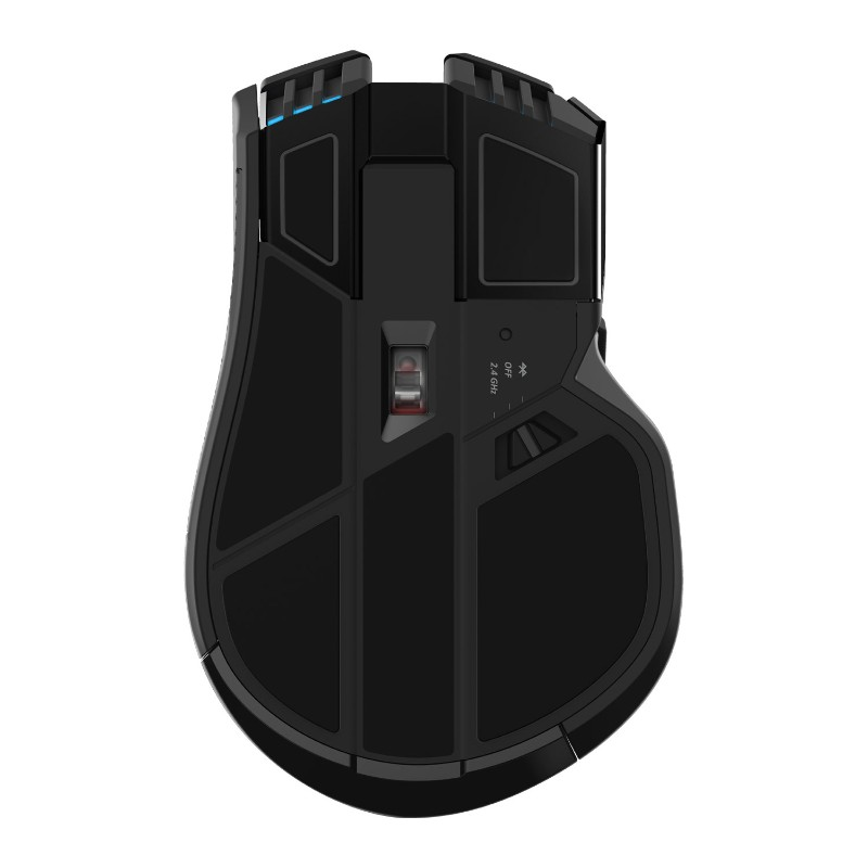 corsair ironclaw rgb wireless gaming mouse d
