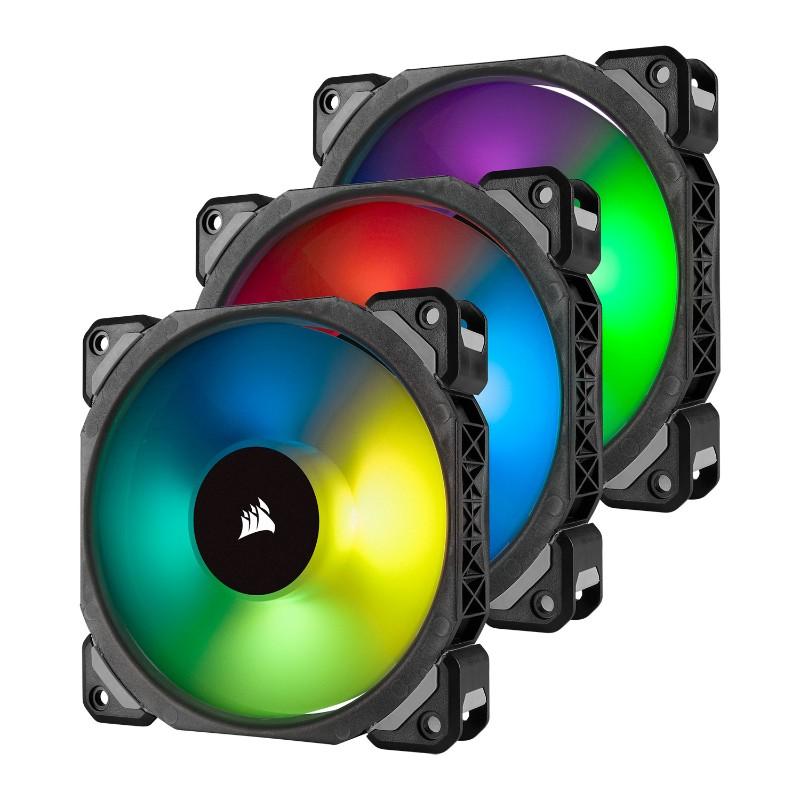 corsair ml120 pro rgb 120mm 3 pack lighting node pro a