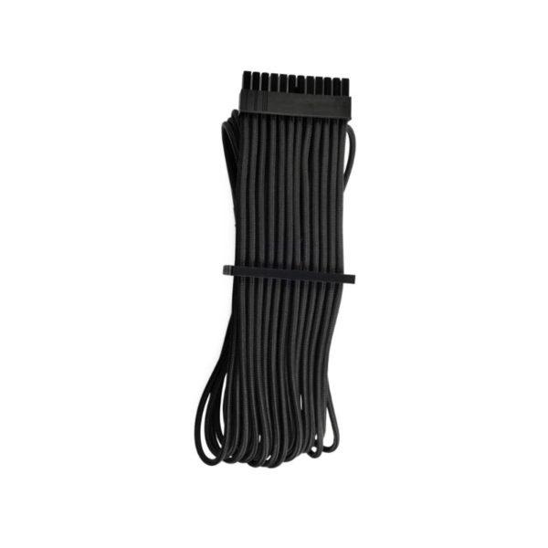 corsair premium individually sleeved atx 24 pin cable black a